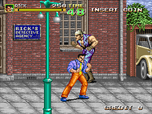 Thumb image for 64th. Street - A Detective Story (World) mame emulator game
