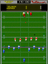 Thumb image for All American Football (rev B) mame emulator game