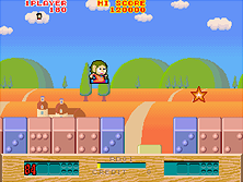 Thumb image for Alex Kidd: The Lost Stars (set 1, FD1089A 317-0021) mame emulator game