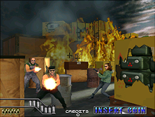 Thumb image for Area 51 / Maximum Force Duo (R3000) mame emulator game