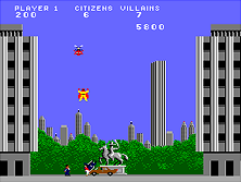 Thumb image for Argus (Gottlieb, prototype) mame emulator game