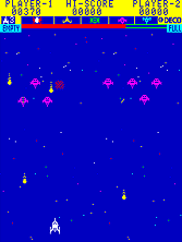 Thumb image for Astro Combat (newer, CB) mame emulator game