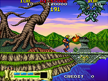 Thumb image for The Astyanax mame emulator game
