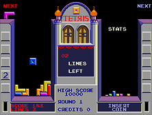 Thumb image for Tetris (bootleg set 1) mame emulator game
