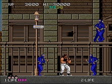 Thumb image for Bad Dudes vs. Dragonninja (US) mame emulator game