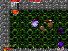 Thumb image for Baraduke mame emulator game