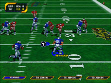 Thumb image for NFL Blitz 2000 Gold Edition mame emulator game