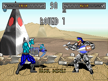 Thumb image for Blood Storm (v1.10) mame emulator game
