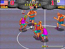 Thumb image for Back Street Soccer mame emulator game