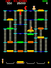 Thumb image for Burger Time (Data East set 1) mame emulator game
