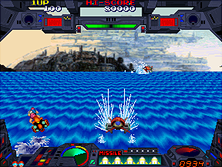 Thumb image for Burning Force (Japan new version) mame emulator game