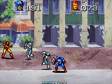 Thumb image for Captain America and The Avengers (US Rev 1.6) mame emulator game