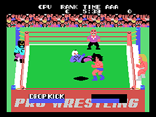 Thumb image for Champion Pro Wrestling mame emulator game