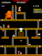 Thumb image for Crazy Kong Part II (set 1) mame emulator game