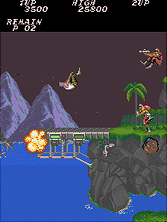 Thumb image for Contra (bootleg) mame emulator game