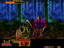 Thumb image for Crossed Swords mame emulator game