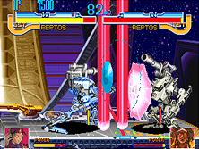 Thumb image for Cyberbots: Fullmetal Madness (Euro 950424) mame emulator game