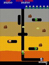 Thumb image for Dig Dug (Atari, rev 1) mame emulator game