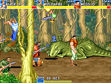 Thumb image for Cadillacs and Dinosaurs (bootleg with PIC16c57, set 2) mame emulator game