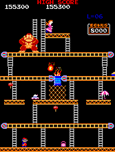 Thumb image for Donkey Kong Foundry (hack) mame emulator game