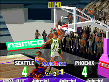 Thumb image for Dunk Mania (DM1/VER.C) mame emulator game