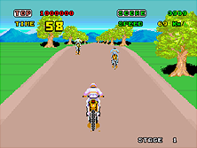 Thumb image for Enduro Racer (YM2151, FD1089B 317-0013A) mame emulator game