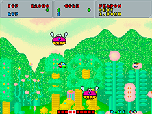 Thumb image for Fantasy Zone (set 2, unprotected) mame emulator game