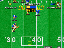 Thumb image for Football Frenzy mame emulator game