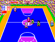 Thumb image for Fighting Basketball mame emulator game