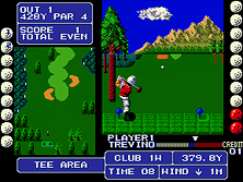 Thumb image for Fighting Golf (US) mame emulator game