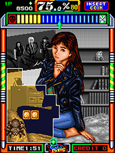 Thumb image for Gals Panic (Unprotected) mame emulator game