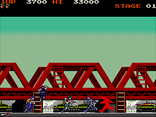 Thumb image for Green Beret mame emulator game
