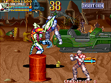 Thumb image for Guardians / Denjin Makai II mame emulator game