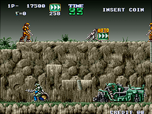 Thumb image for Gunforce - Battle Fire Engulfed Terror Island (Japan) mame emulator game