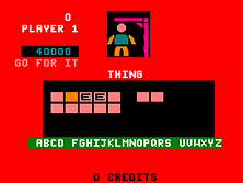 Thumb image for Hangman mame emulator game
