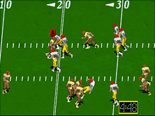 Thumb image for High Impact Football (rev LA3 12/27/90) mame emulator game