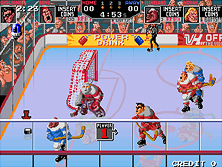 Thumb image for Hit the Ice (US) mame emulator game