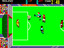 Thumb image for Indoor Soccer mame emulator game