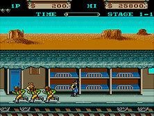 Thumb image for Iron Horse mame emulator game