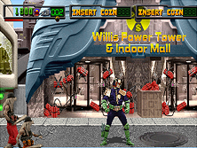 Thumb image for Judge Dredd (rev LA1, prototype) mame emulator game