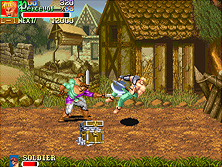 Thumb image for Knights of the Round (World 911127) mame emulator game