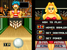 Thumb image for League Bowling mame emulator game