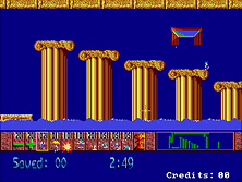 Thumb image for Lemmings (US Prototype) mame emulator game
