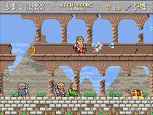 Thumb image for Legend of Hero Tonma mame emulator game
