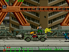 Thumb image for Midnight Resistance (US) mame emulator game