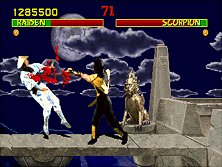 Thumb image for Mortal Kombat (prototype, rev 9.0 07/28/92) mame emulator game