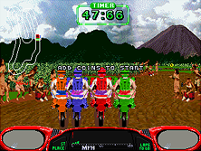 Thumb image for Moto Frenzy mame emulator game