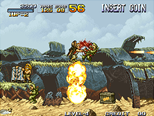 Thumb image for Metal Slug - Super Vehicle-001 mame emulator game