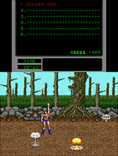 Thumb image for Golden Axe (Mega-Tech) mame emulator game