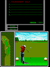 Thumb image for Arnold Palmer Tournament Golf (Mega-Tech) mame emulator game